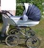 Продам коляску Adamex Katrina (2 в 1)
