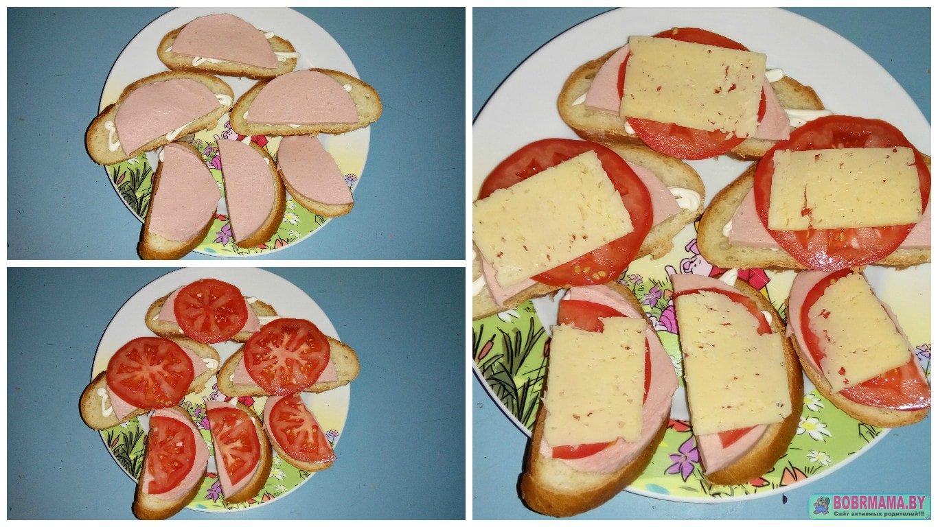 Как вкусно сделать горячий бутерброд 787