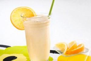 Молочный коктейль с апельсином
