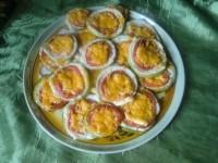 Кабачки с помидорами под сыром