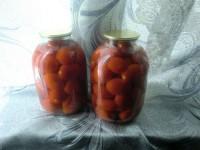 Консервированные помидоры без специй